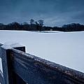 Winter Snow On Farm by John Magyar Photography