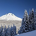 Winter Snow Over The Cascade Range by Craig Tuttle