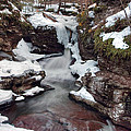 Winter Still Has Its Icy Grip On Adams Falls by Gene Walls