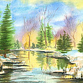 Winter Stillness by Walt Brodis