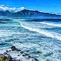 Winter Storm Surf At Ho'okipa Maui by Dominic Piperata