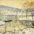 Winter Stream by Ernest Lawson