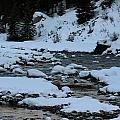 Winter Stream by Heather Oldcrankone