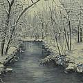 Winter Stream by Nancie Johnson