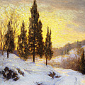 Winter Sundown by Walter Launt Palmer