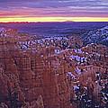 Winter Sunrise At Bryce Canyon by Susan Rovira