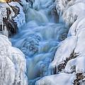 Winter Sunrise Great Falls by Bob Orsillo