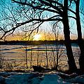Winter Sunset by Angela Casperson