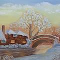 Winter Sunset by Dorothy Merritt