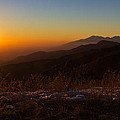 Winter Sunset by Heidi Smith