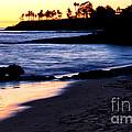 Winter Sunset In Laguna Beach II by Mariola Bitner