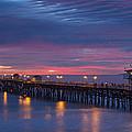 Winter Sunset San Clemente by Cliff Wassmann