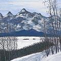 Winter Tetons by Ginny Neece