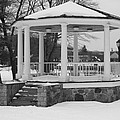Winter Time Gazebo by John Telfer