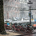 Winter Time In Amsterdam by Tino Lopes
