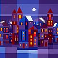 Winter Town by Michael Jernegan