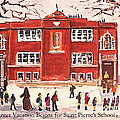 Winter Vacation Begins For Saint Pierre's School by Rita Brown