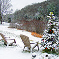 Winter Valley Chairs 2 by Duane McCullough