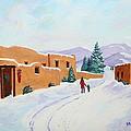Winter Walk by Mary Anne Civiok