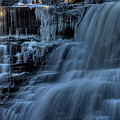 Winter Waterfall by David Dufresne