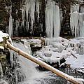 Winter Waterfall by Joshua Bales