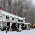Winter Wonderland At The Valley Green Inn by Bill Cannon