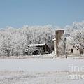 Winter Wonderland Farm by Robyn Saunders