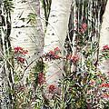 Winter Wood Jpg by Karen Lindeman