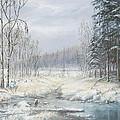 Winter Woods by Dan Reid