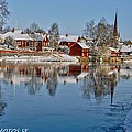 Winterday In Arboga  by Stefan Pettersson