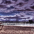 Winters Beach Solitude by Tommy Anderson