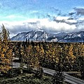 Winters Breath by Ron Bissett