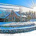 Winters Day Photoart 6 by Randall Branham