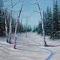 Winter's Day by Xochi Hughes Madera