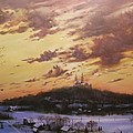 Winter's Eve At Holy Hill by Tom Shropshire