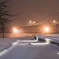 Winter's Night Stroll by Mark McDaniel