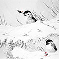 Chickadees by Chastity Hoff
