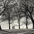 Winters Walk by Russ Dixon