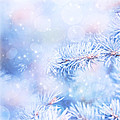 Wintertime Background by Anna Om