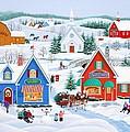 Wintertime In Sugarcreek by Wilfrido Limvalencia
