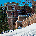 Wintery Lambert Castle by Anthony Sacco