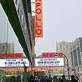Wintry Day At The Apollo by Ed Weidman