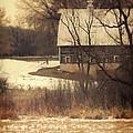 Wisconsin Barn In Winter by Jill Battaglia