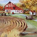 Wisconsin Barn by Kris Parins