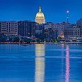 Wisconsin Capitol Reflection by Sebastian Musial