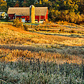 Wisconsin - Country Morning by Lindley Johnson