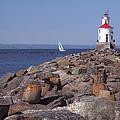 Wisconsin Point Lighthouse 1 K by John Brueske