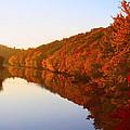 Wisconsin River Sunrise by Tiffany Erdman