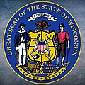 Wisconsin State Seal by Movie Poster Prints