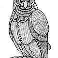 Wisdom Owl by Jim Harris